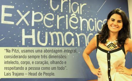 Lais Trajano - Head People da Ptizi