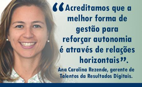 Ana Carolina Rezende - Gerente de Talentos da Resultados Digitais