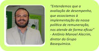Antônio Manuel Alecrim diretor do Grupo Basequímica
